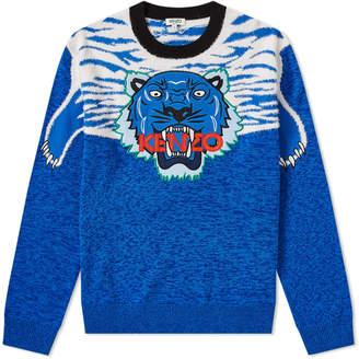 Kenzo Claw Tiger Crew Knit