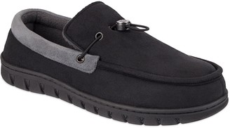 Men's Exact Fit Venetian Toggle Moccasin Slipper