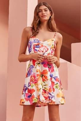 6084ec6efc Lipsy Floral Skater Dress - 4 - White