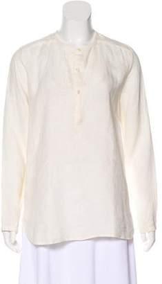 Linen Tunic Tops Shopstyle