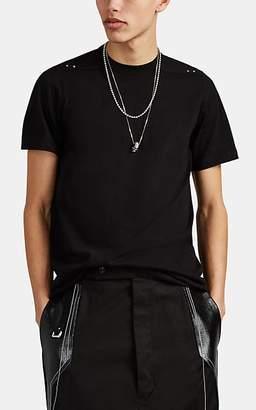 Rick Owens Men's Studded Cotton T-Shirt - Black