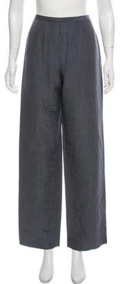 Giorgio Armani Linen & Silk-Blend Dress Pants
