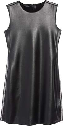 Marciano Faux Leather Sheath Dress