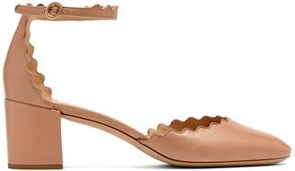 CHLOÉ Lauren scallop-edged leather pumps $695 thestylecure.com