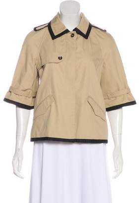 Rag & Bone Three-Quarter Sleeve Casual Jacket