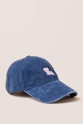 francesca's Louisiana Baseball Cap - Navy