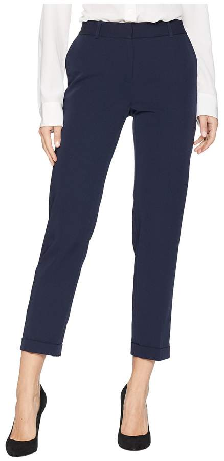 Tahari by ASL Ankle Length Twill Pants Women's Casual Pants
