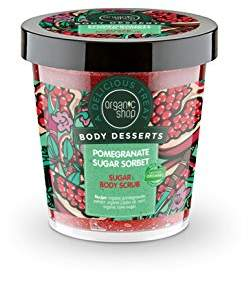 Sorbet Organic Shop Body Desserts Pomegranate Sugar Sugar Body Scrub
