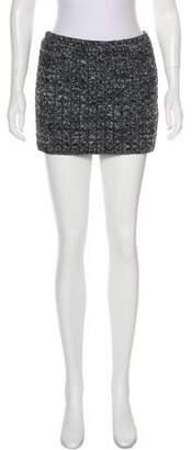 Arthur Arbesser Cable Knit Mini Skirt