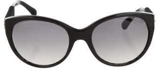 Chanel CC Velvet Sunglasses