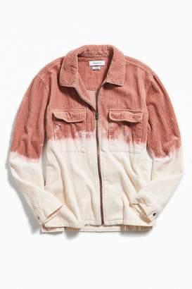 Urban Outfitters X Riverside Tool & Dye Dip-Dyed Ryder Corduroy Zip Shirt