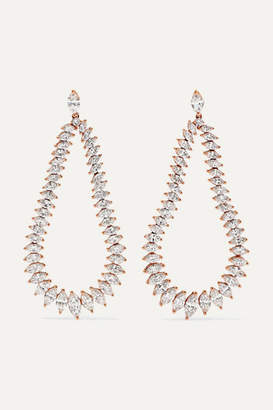 Anita Ko Eternity 18-karat Rose Gold Diamond Earrings