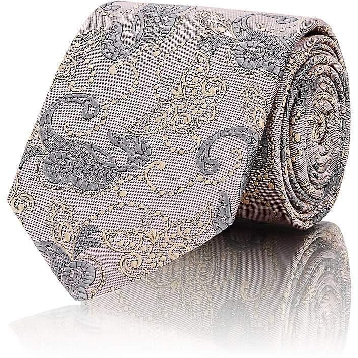Men's Swirl Silk Twill Necktie