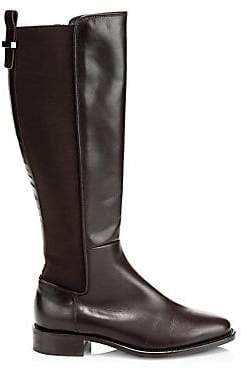 Aquatalia Women's Nastia Leather Knee-High Boots