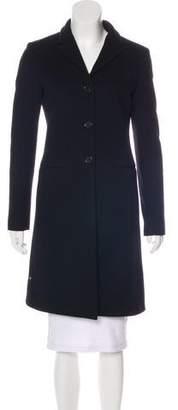 Calvin Klein Collection Knee-Length Wool Coat