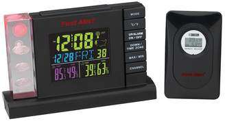 First Alert Radio-Controlled Weather Station Alarm Clock