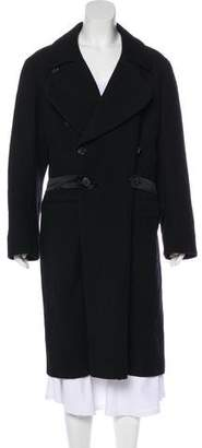 Dries Van Noten Wool-Blend Long Coat