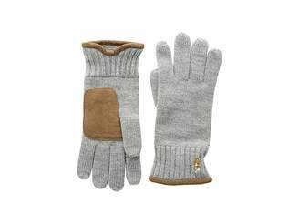 Polo Ralph Lauren Classic Lux Merino Gloves with Leather Palm