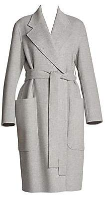 Acne Studios Women's Carice Wool & Cashmere Wrap Coat