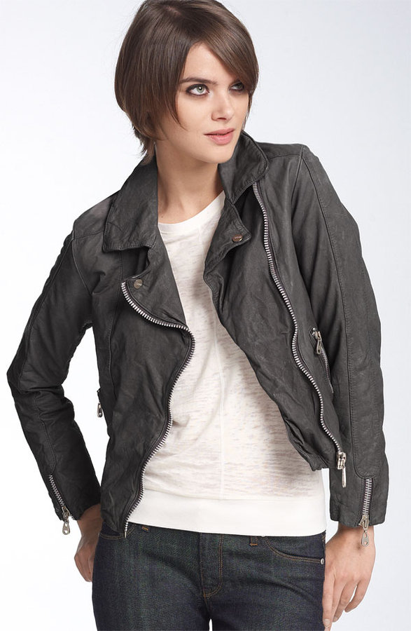 Doma Leather Motorcycle Jacket