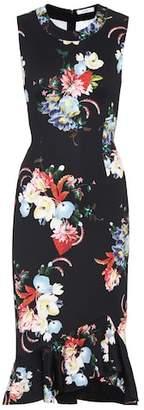 Erdem Louisa floral jersey dress