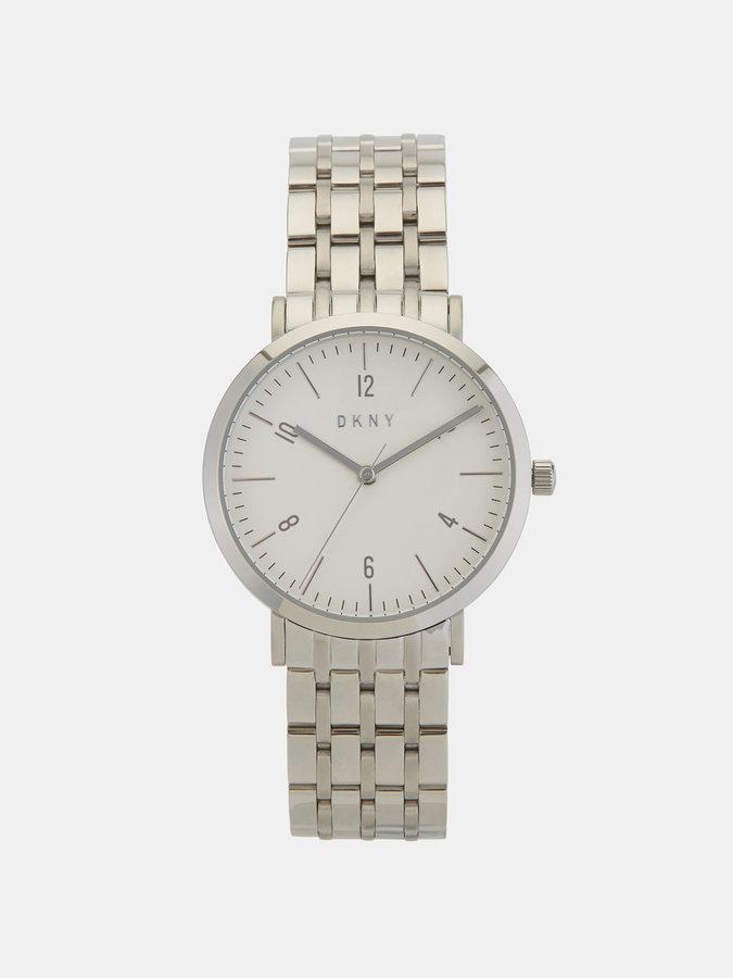 DKNYMinetta Stainless Steel Silver-Tone Watch