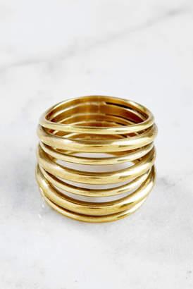 Soko Layered Strand Ring
