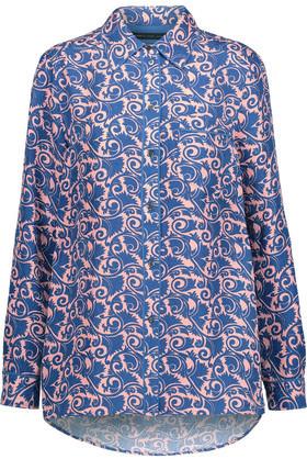 Marc by Marc Jacobs Tootsie Printed Silk-Satin Shirt