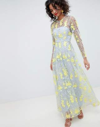 Asos Edition EDITION embroidered maxi dress