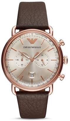 Emporio Armani Armani Dress Chronograph, 43mm