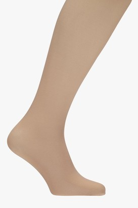 boohoo 40 Denier Nude Opaque Tights