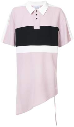 Chin Mens Asymmetric polo shirt