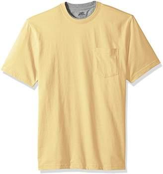 Izod Men's Doubler Crew Neck Solid Short Sleeve Tee