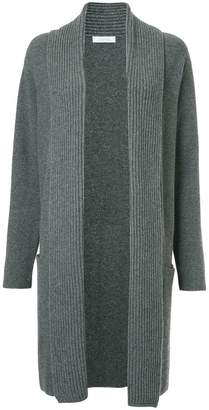 Cruciani ribbed knit cardi-coat
