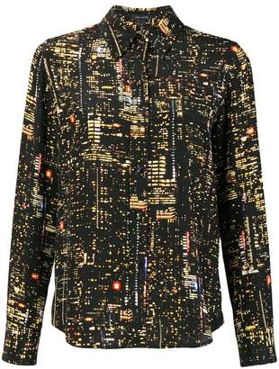 Marc Jacobs city lights printed blouse