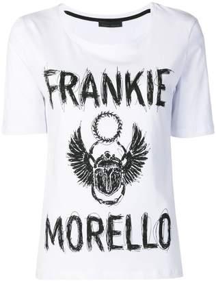 Frankie Morello scribble logo T-shirt