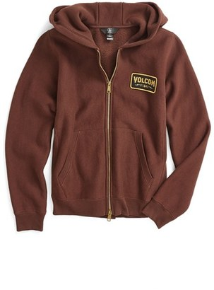 Boy's Volcom Shop Zip Hoodie $60 thestylecure.com