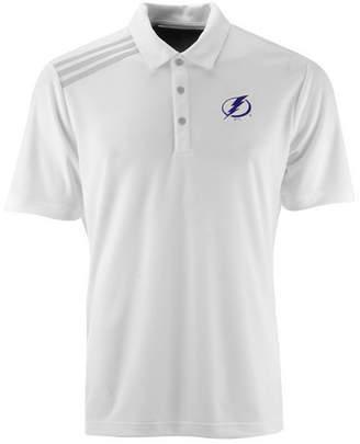 adidas Men's Tampa Bay Lightning 3 Stripe Polo