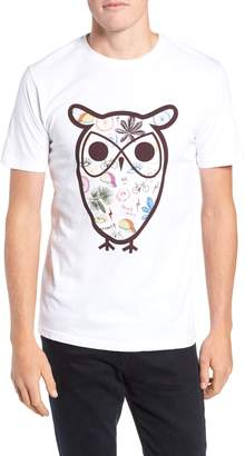 Knowledge Cotton Apparel KnowledgeCotton Apparel Owl Concept T-Shirt