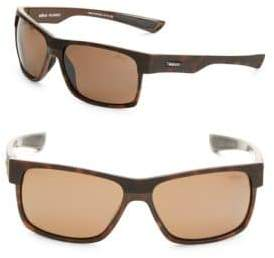 Revo Camden 60MM Square Tortoiseshell Sunglasses