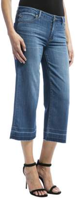 Liverpool Jeans Company Wideleg Cropped Jeans