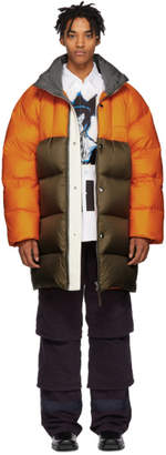 Acne Studios Orange Down Coat