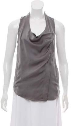 Helmut Lang Sleeveless Layered Top