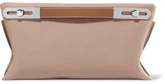 Loewe Missy Small Textured-leather Shoulder Bag - Beige