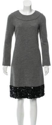 Dolce & Gabbana Knee-Length Sweater Dress