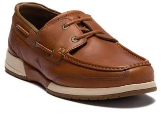 Tommy Bahama Land Lover Moc Toe Boat Shoe