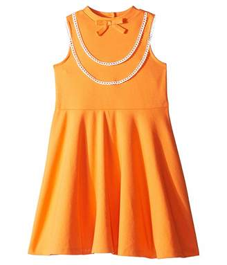 Janie and Jack Ruffle Ponte Dress (Toddler/Little Kids/Big Kids)