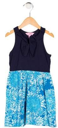 Lilly Pulitzer Girls' Printed Sleeveless Dress