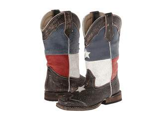 Roper Texas Flag Square Toe Boot (Toddler/Little Kid)