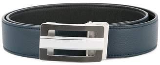 Cerruti rectangular buckle belt